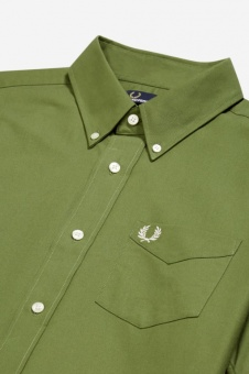 Fred Perry shirt Classic Oxford cypress