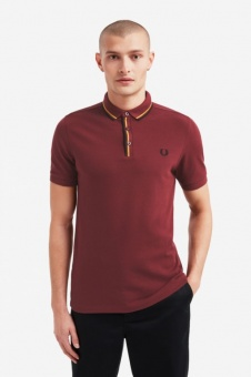 Tipped Placket Polo Port M8559