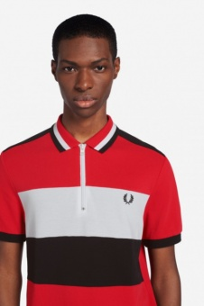 Fred Perry Chest Panel Polo Shirt