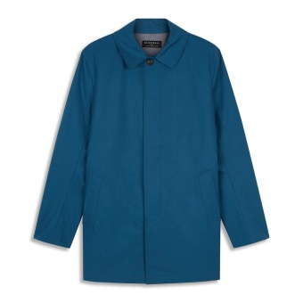 Mens James Car Coat petrol