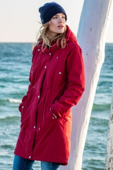 Nora Winter Parka Dark Red