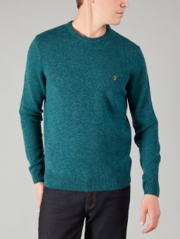Rosecroft crewneck teal