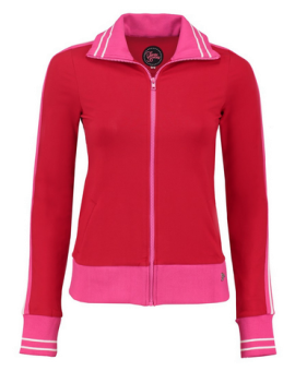 Sporty Jacket Red