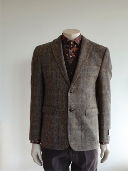 Tweedblazer Check Olive Grey