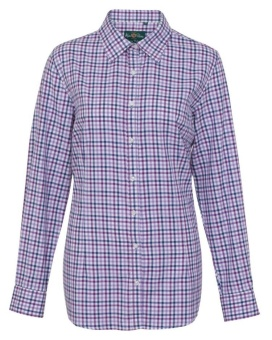 Alan paine Bromford shirt purple DAM