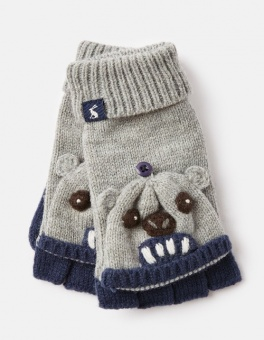 Chummy Converter Gloves Greybear