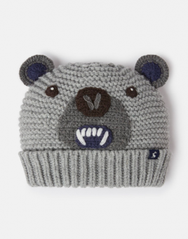 Chummy Knitted Character Hat Bear Tom Joule