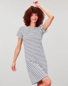 Joules dress Riviera white