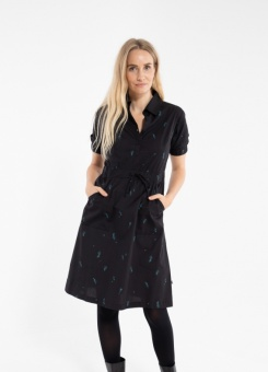 Susanne Dress Black/Dark Duck
