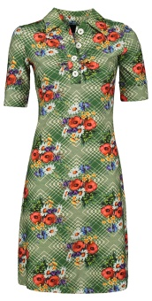 Dress Kyra poppy green
