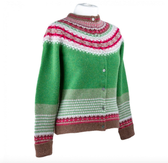 Alpine Cardigan Watercress/Green