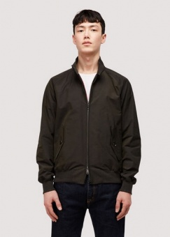 G9 Baracuta The Harrington faded black