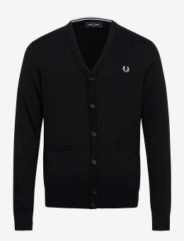 Fred Perry Classic Cardigan black