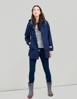 Coast Mid Waterproof Jacket French Navy