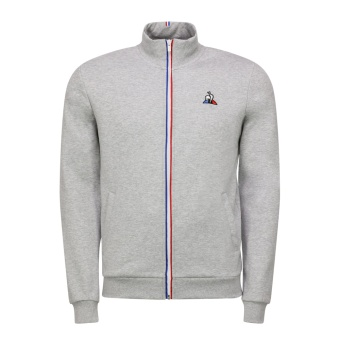 Le Coq sportif zip sweatsthirt grey melange