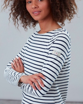 Harbour Long Sleeve Jersey Top White