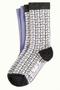King Louie socks 2-Pack Yucca Black
