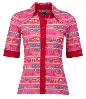 Button Shirt Kitschen Pink