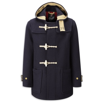 Gloverall duffle coat Monty Union jack