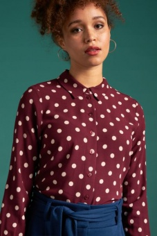 Rosie Polkadot Windsor Red