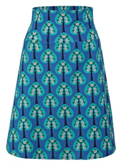 Skirt Hearts Tree Blue