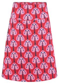 Skirt Hearts Tree Red