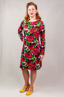SARA Dress ls roze