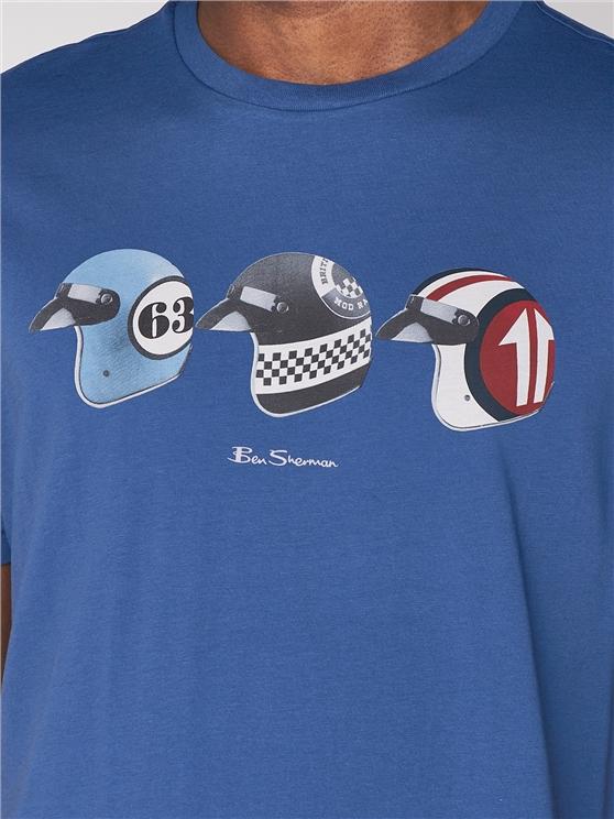 Ben Sherman tee Helmets Indigo