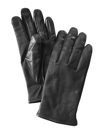 Gaucho gloves klassisk herrhandske svart