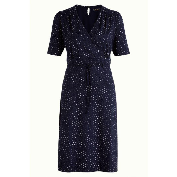 Cecil Dress Little Dots nuit blue
