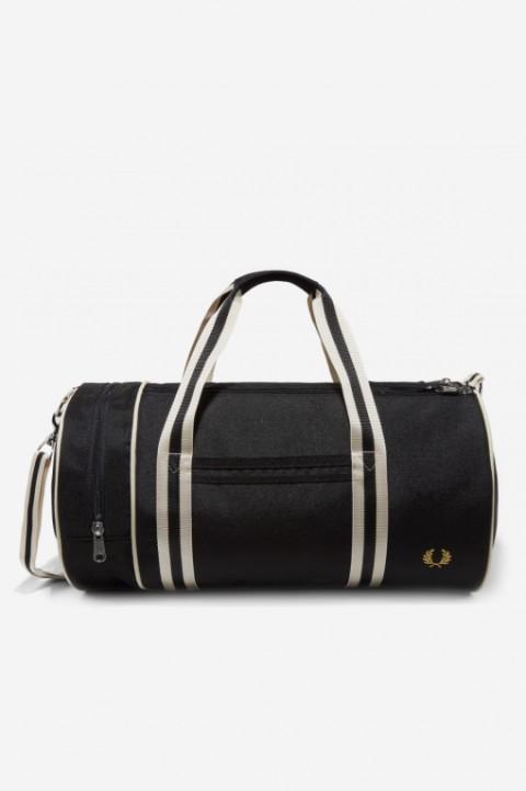 Twin Tipped Barrel Bag black