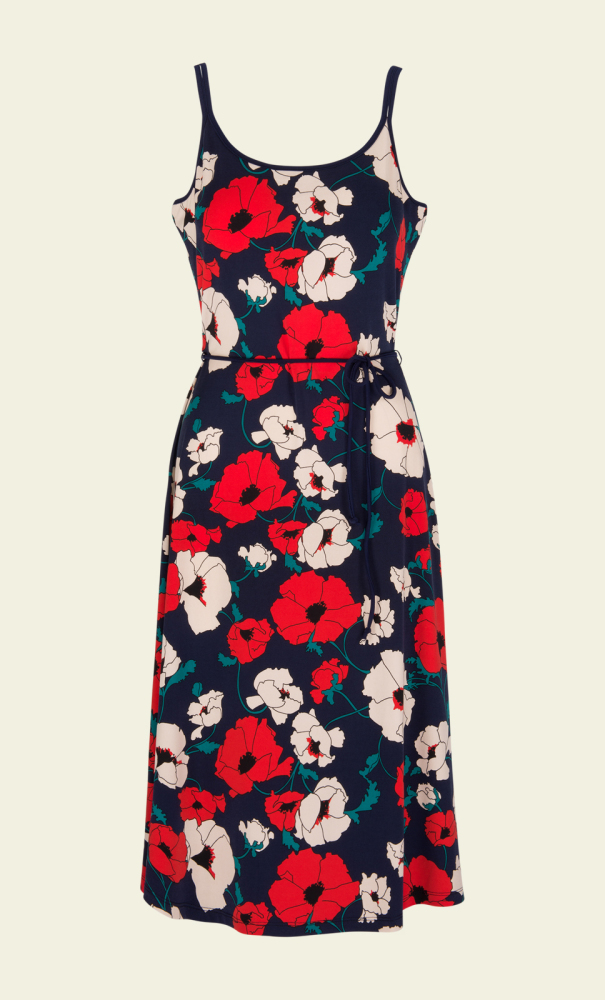 Viola Dress Shirley Poppy