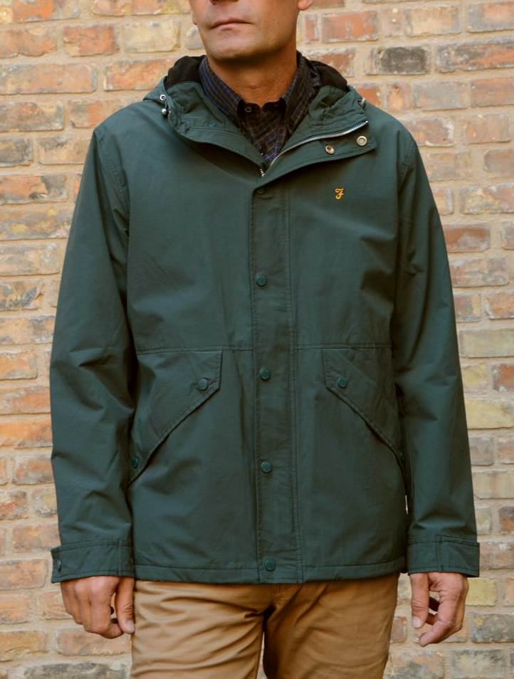 Brodie jacket gillespie green