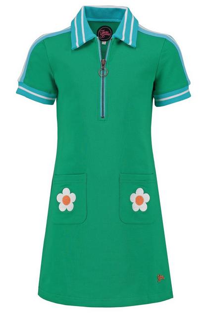 Dress Sporty Summer Mini Green