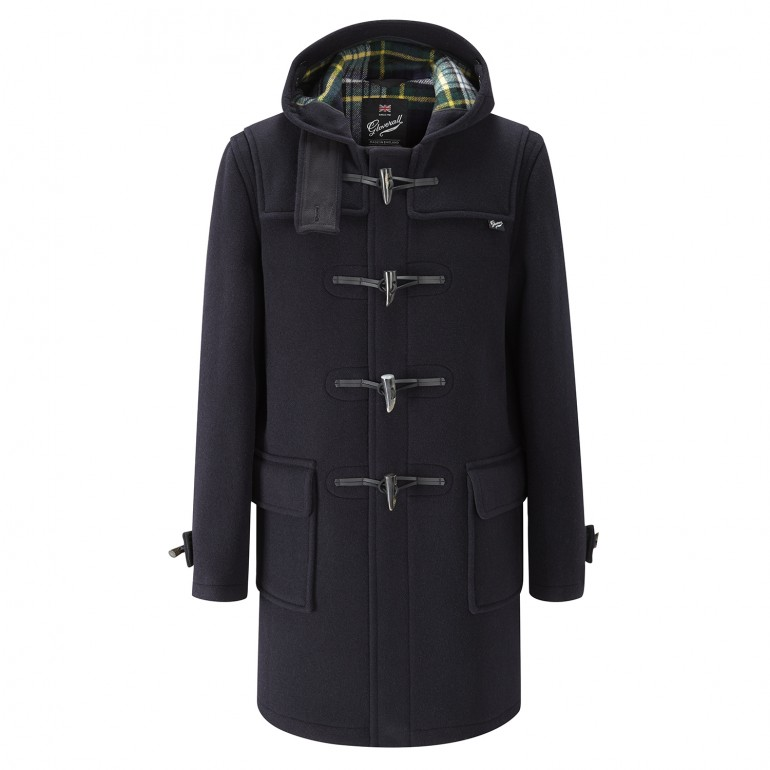 Duffle coat Morris herr navy