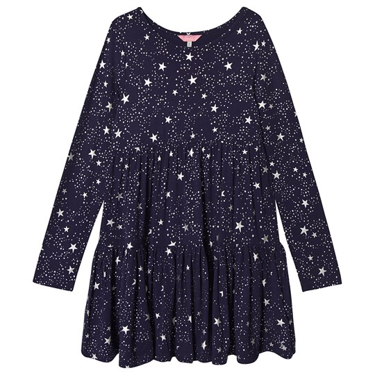 Toni Dress Navy Star Tom Joules