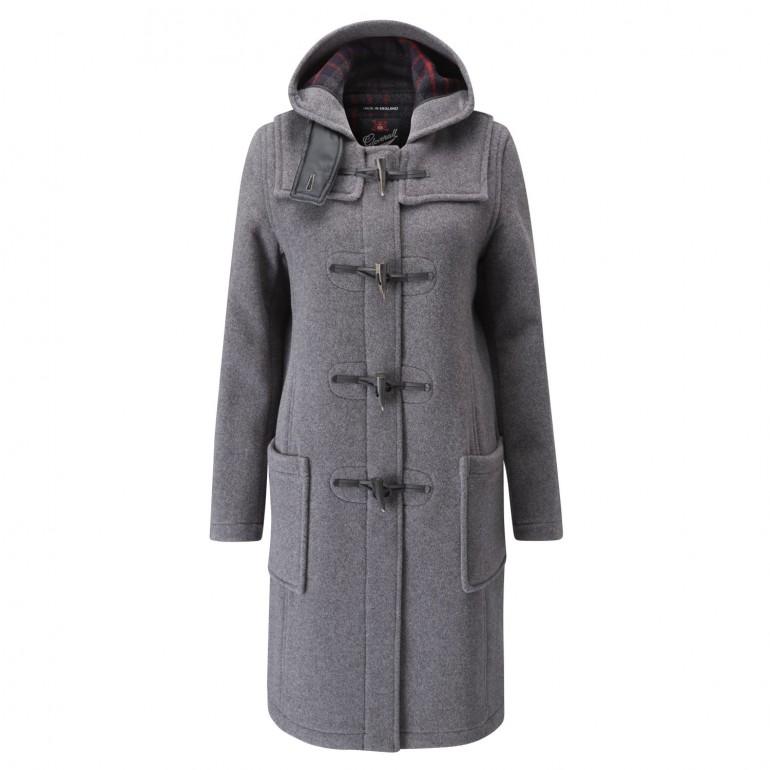Duffle coat dam grey
