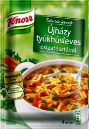 """Hönssoppa a la """"Újházy"""""""