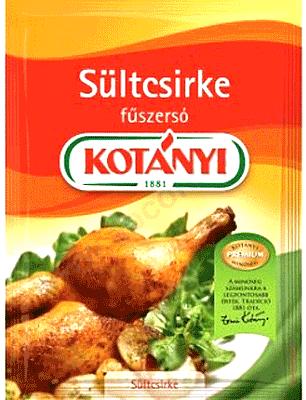 Stekt kyckling krydda