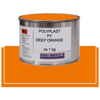 Polyplast PY Deep Orange, ca 1 kg