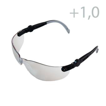 Skyddsglasögon med slipning. Färg klar