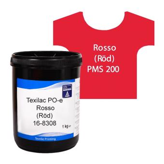 Texilac PO-E, Rosso (Röd) ca 1 kg