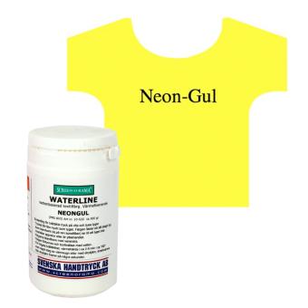 Waterline, Neon-Gul, ca 300 gr