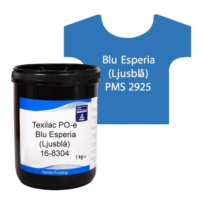 Texilac Po-E, Blu Esperia (Ljusblå) ca 1kg