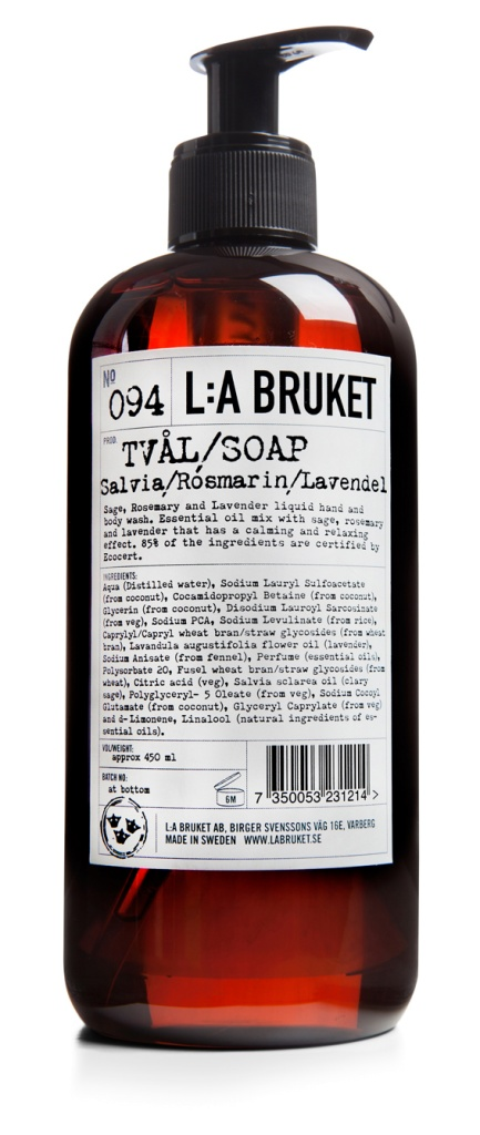 Flytande tvål - Salvia/Rosmarin/Lavendel