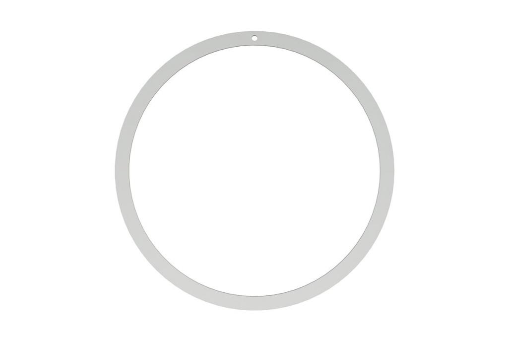 Wreath 40 cm - Stainless Steel