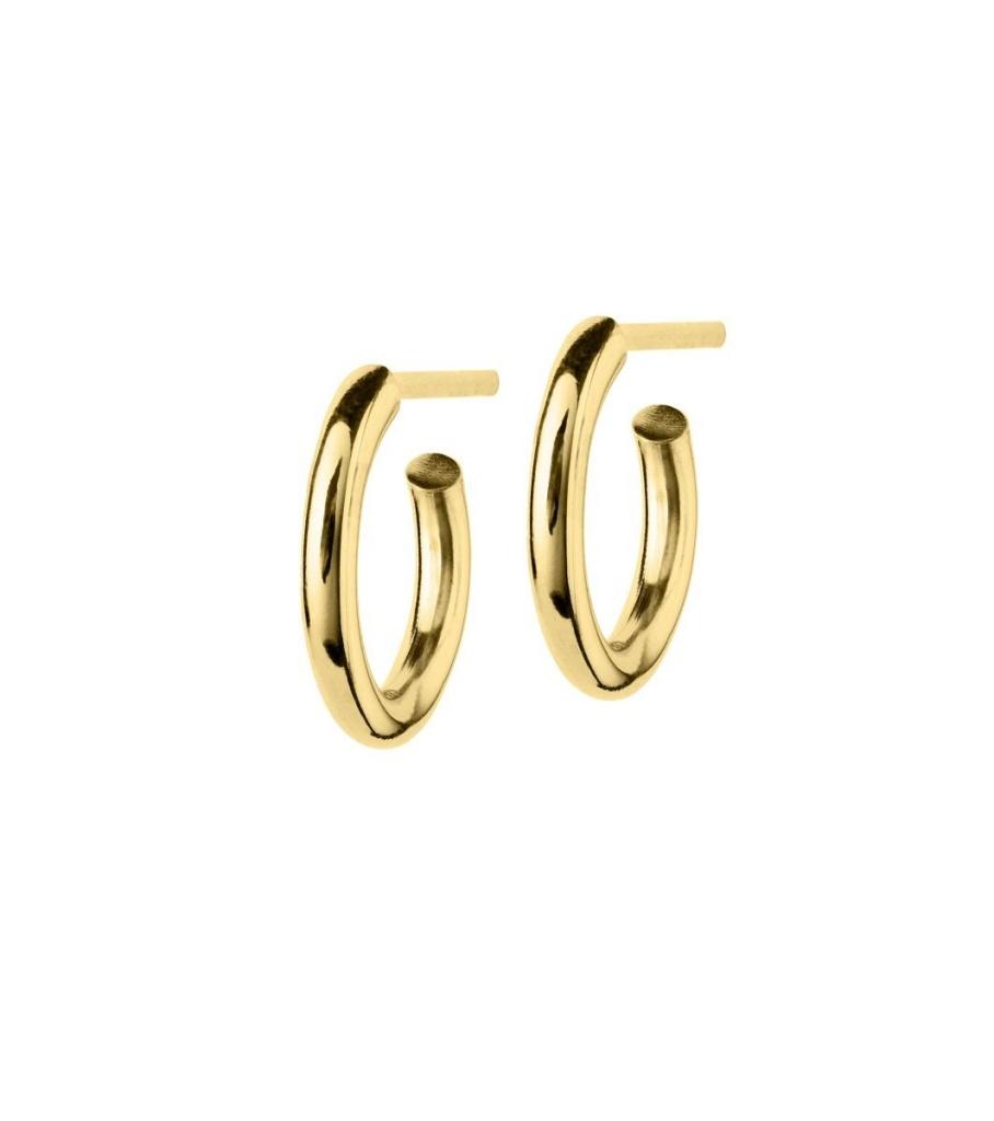 Hoops Earrings - Gold Small