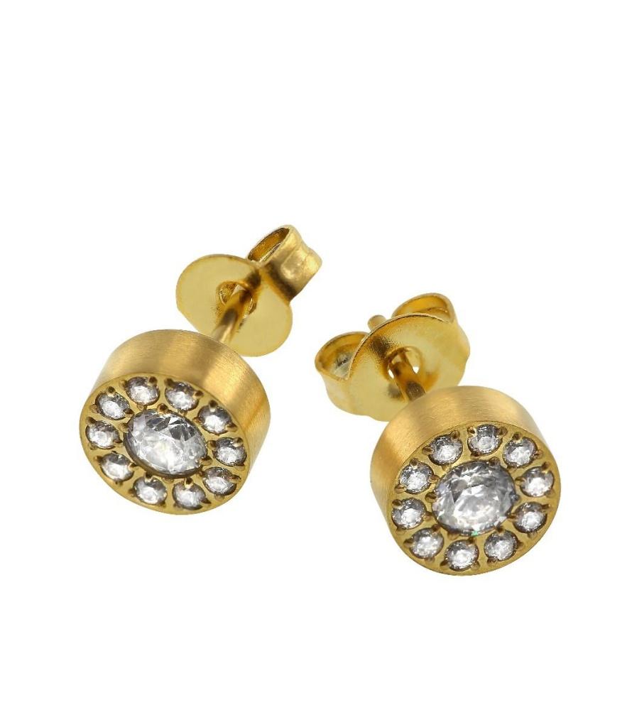 Thassos Studs Mini - Gold