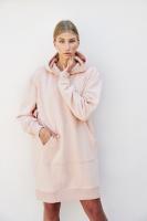 Morgan Hoodie Dress - Pink Sand