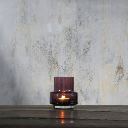 Hurricane Tealight no.25 - Heather